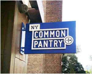 common pantry hanging sign