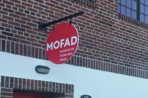 mofad hanging blade sign