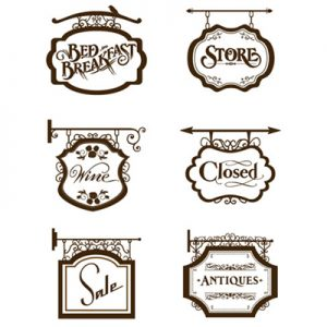 sign ideas and choices for hanging signs