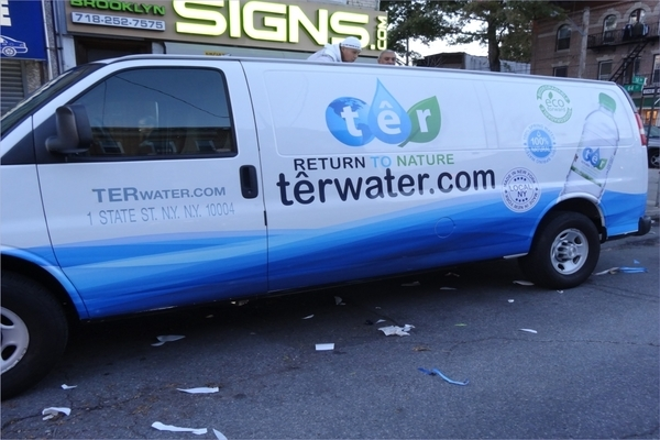 Advertising Van Wraps For Terwater
