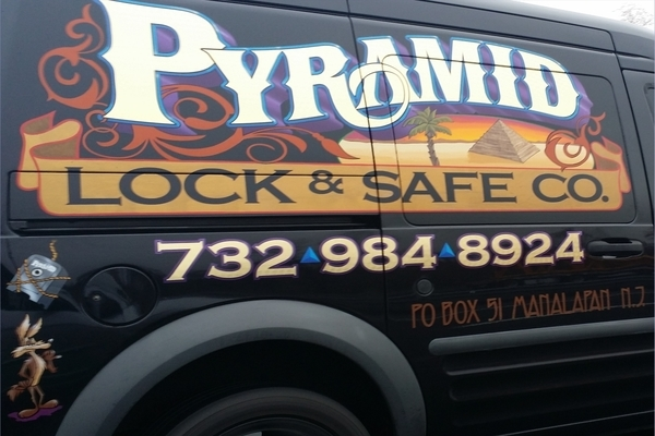 Branding Car Wraps For Pyramid