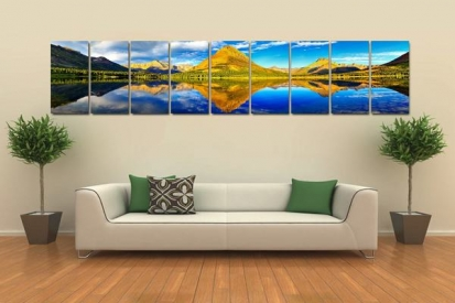 Office Waiting Area Canvas Painting