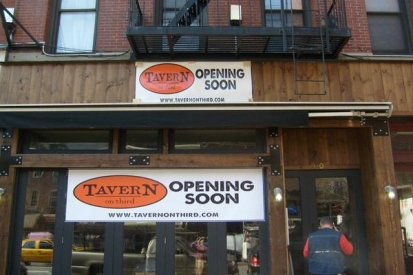 Storefront Grand Opening Vinyl Banners