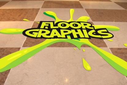 Floor Graphics For Commercial Use