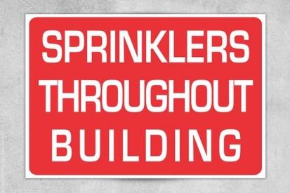 Sprinkler Sign