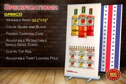 Double Sided Banner Stand