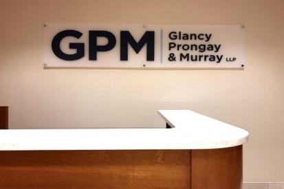 Reception Area Office Sign