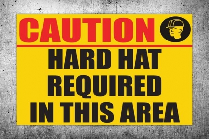 Had Hat Area Sign