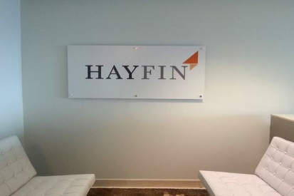 Frosted White Acrylic Face Sign