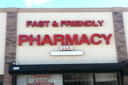 Lighted Letter Signs For Pharmacy