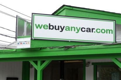 Metal Sign For We Buy Any Car