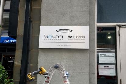 Outdoor Dibond Sign For MONDO