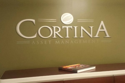 Reception Area Metal Letters For Cortina