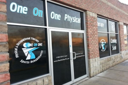 Window Wraps For One on One Therapy
