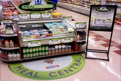 Floor Vinyl Graphics For Meal Central