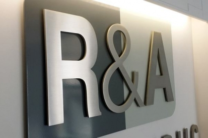 Metal Letter Sign For R&A