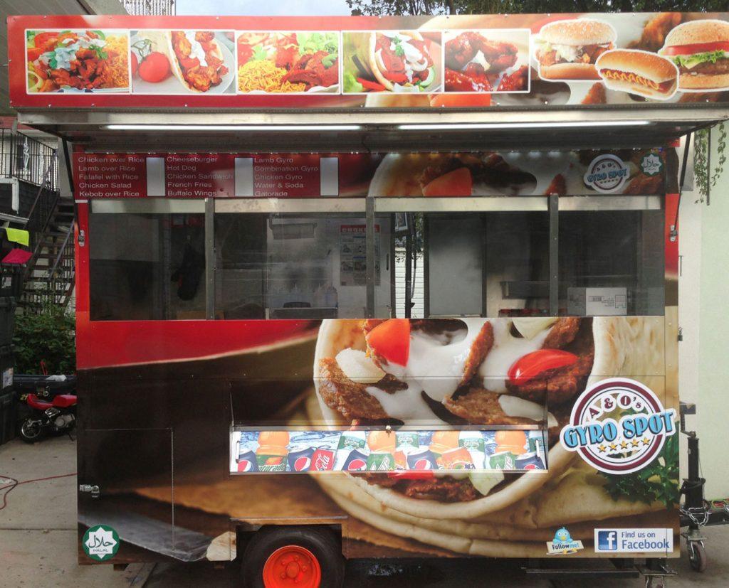3m vinyl food truck wraps