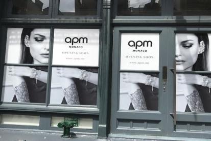 Window Wraps For APM Monaco Shop