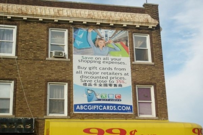 Large Format Vinyl Marketing Banners