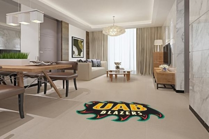 Floor Decals For UAB Blazers