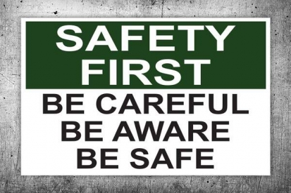 Building Safety Sign