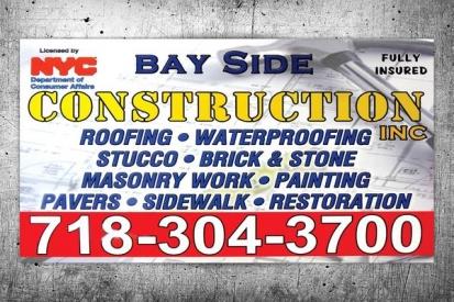 Construction Company Sign