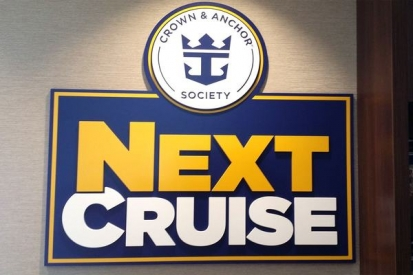 Metal Letters Sign For Next Cruise