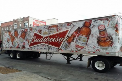 Trailer Wraps For Budweiser