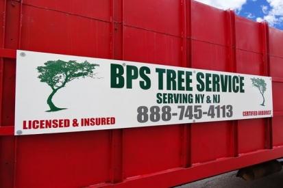 Dibond Flat Sign For BPS Tree Service