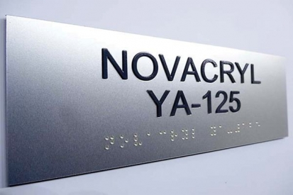 ADA Braille Office Signs