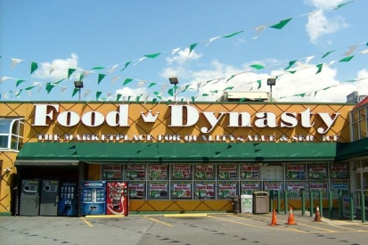 Channel Letters Sign For Food & Dynasty