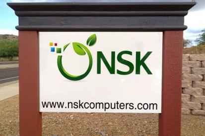 Dibond Panel Sign For NSK
