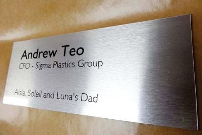 Office Door Nameplates Signs