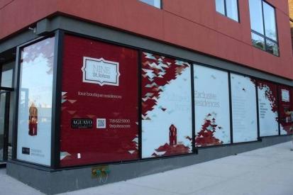 Retailer Window Wraps For Nine St. Johns