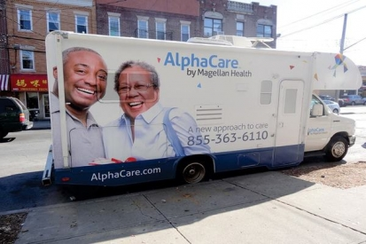 Custom Truck Wraps For Alpha Care