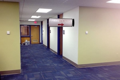 Indoor Office Directional Signs