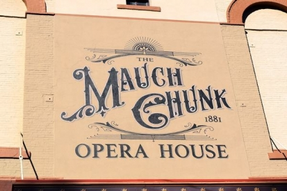 Hand Painted Signs For Mauch Chunk
