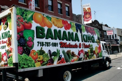 Box Truck Wraps For Banana King