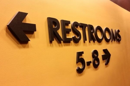 Metal Wall Mounted Letters For Office