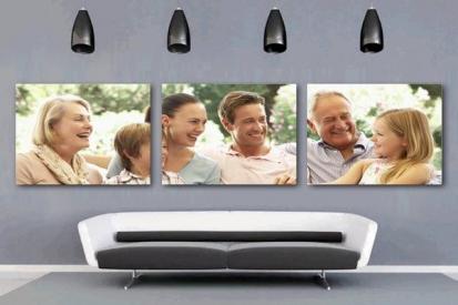Family Photo Canvas Printing