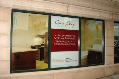 Window Vinyl Wraps For Queens Plaza