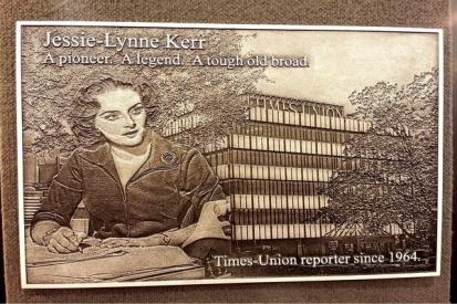Memorial Plaque For Jessie-Lynne Kerr