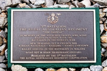Metal Plaque For Royal Australian