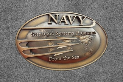 Engraved Plaque For Navy Badges