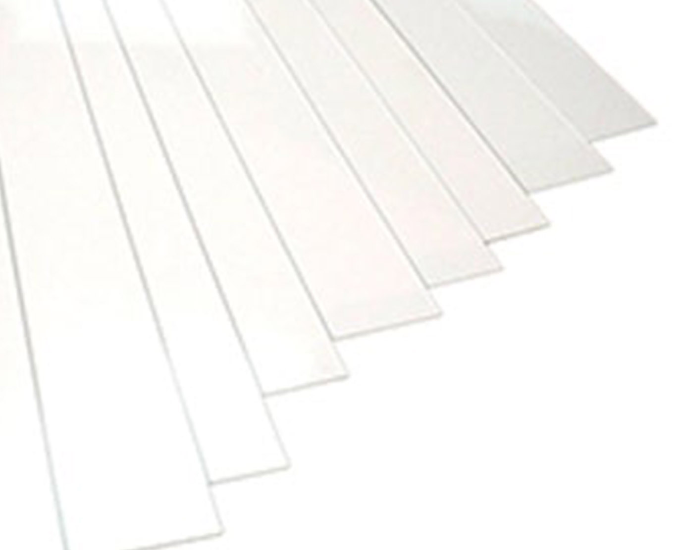 blank styrene sheets
