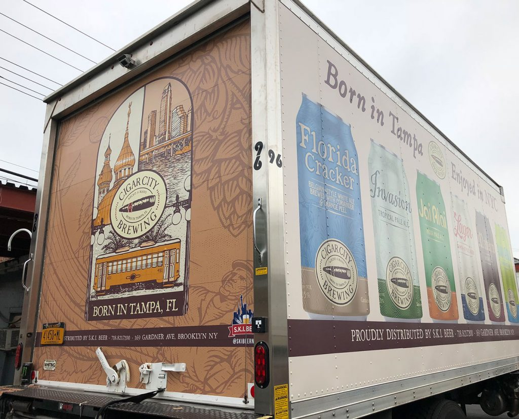 branded food truck wraps