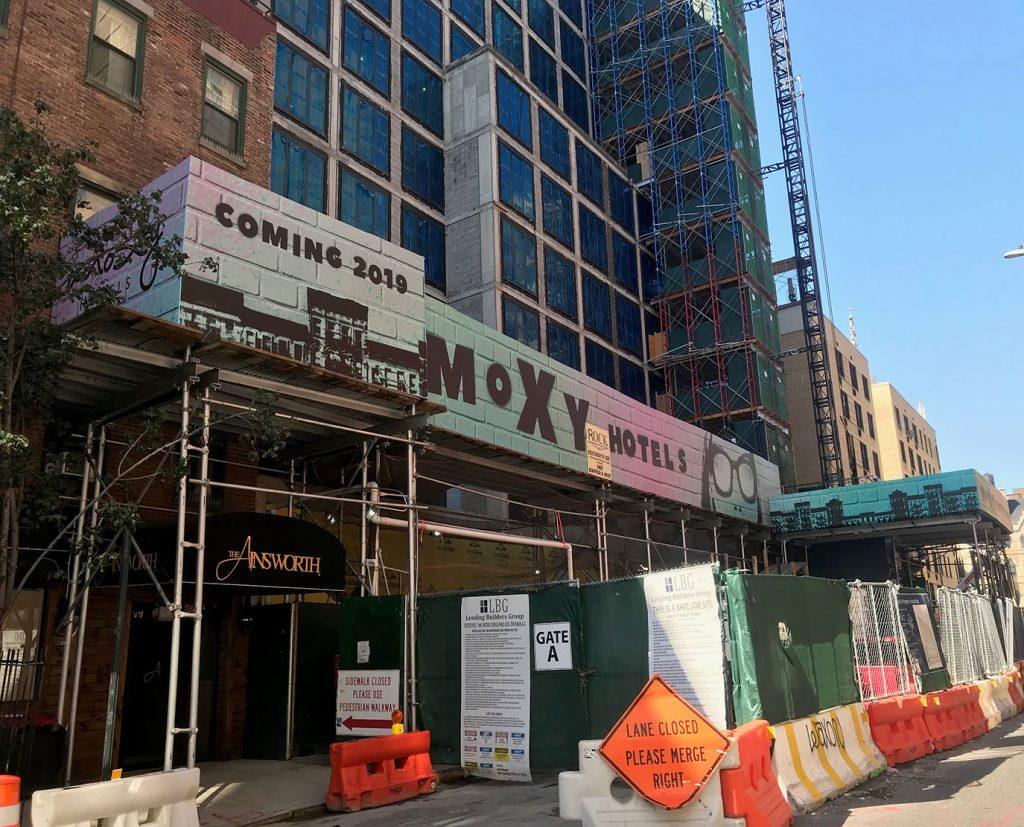 building scaffolding banner wraps