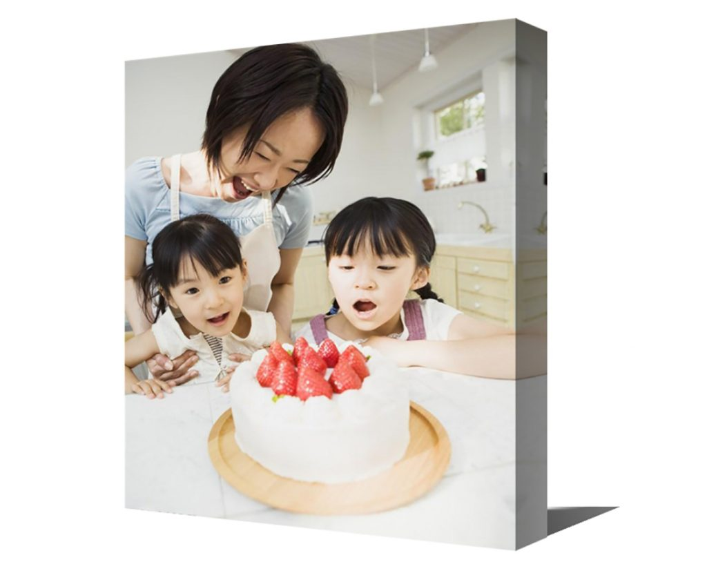 canvas printing for family images