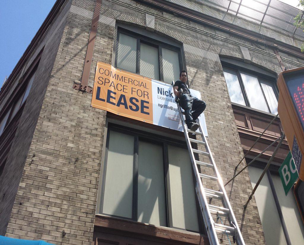 commercial metal sign repairing