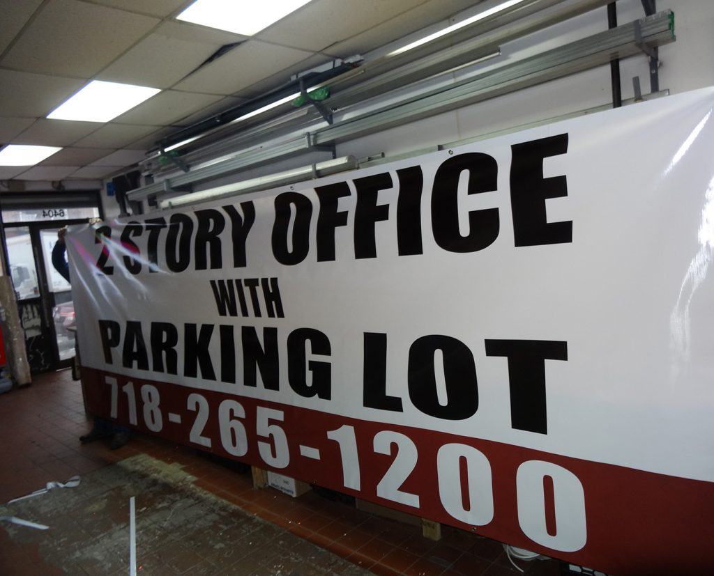 commercial outdoor banner printing